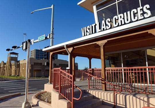 Visit Las Cruces building on Main Street.