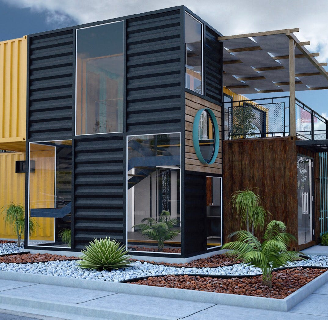 Why this Las Cruces Realtor is building her new office out of old shipping containers