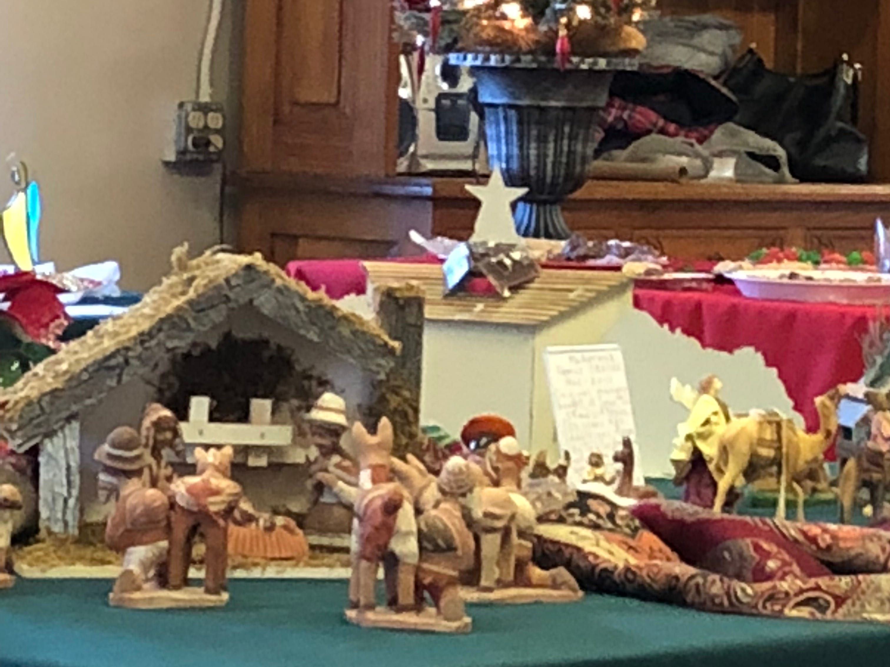 Families may add their creches to display at Holy Mount Episcopal Church Dec. 15
