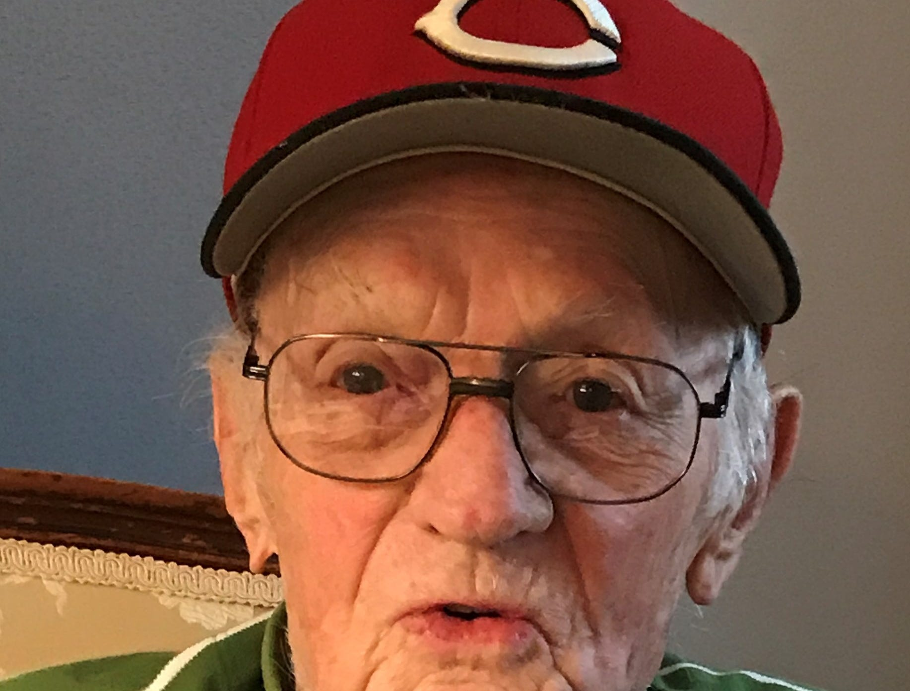 Eugene McDonald became a Cincinnati Reds baseball fan during years living in nearby Lawrenceburg, Indiana.