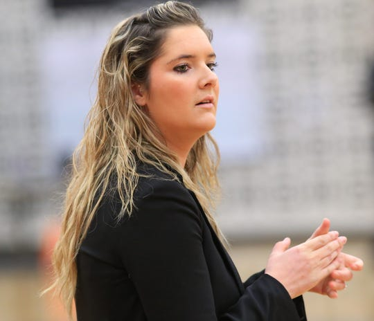 Kacy Moran finished 40-9-2 overall in her first season as Novi girls volleyball coach.