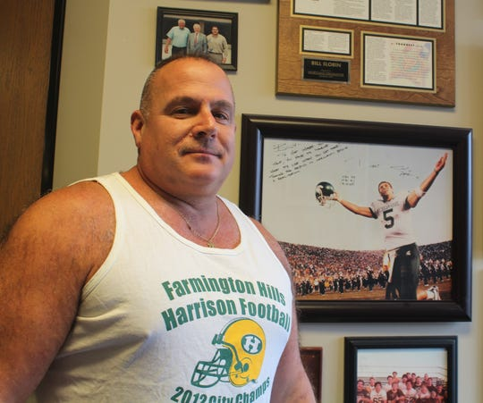 Farmington Hills Harrison grad (1980) Billy Slobin, the football program's longtime strength and conditioning coach, said the school's closing will leave 'a hole in our existence.'