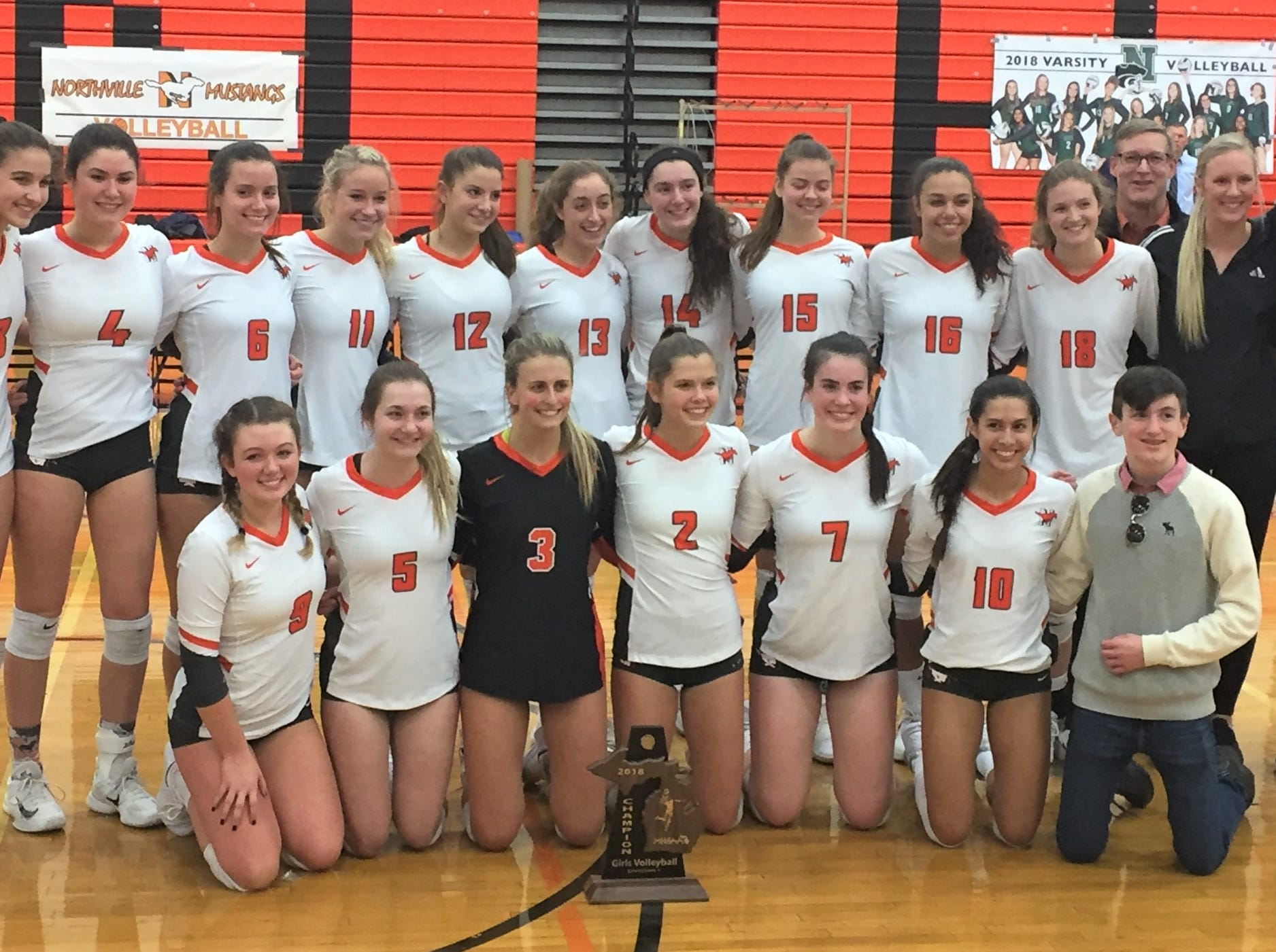Northville upends three-time state volleyball champion Novi in district