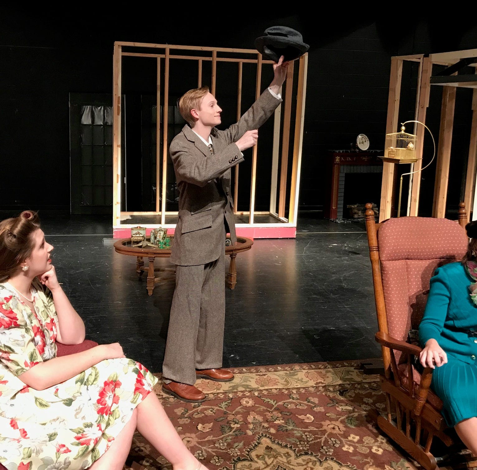 'Harvey' (we think, he's invisible) comes to stage at South Lyon High School