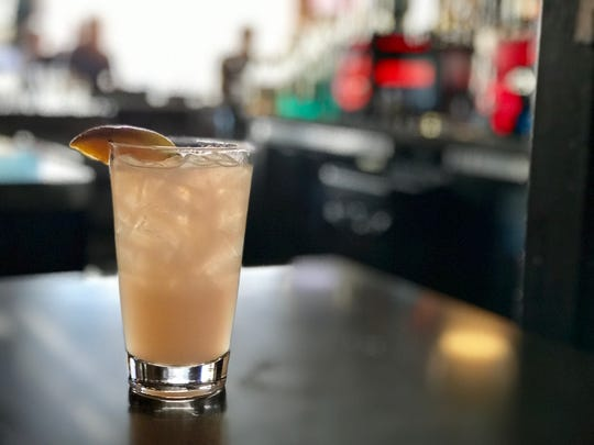 Chill Bar's Paloma Pride cocktail
