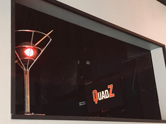 Inside QuadZ Video Bar, formerly known as Spurline