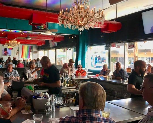 Street Bar in Palm Springs