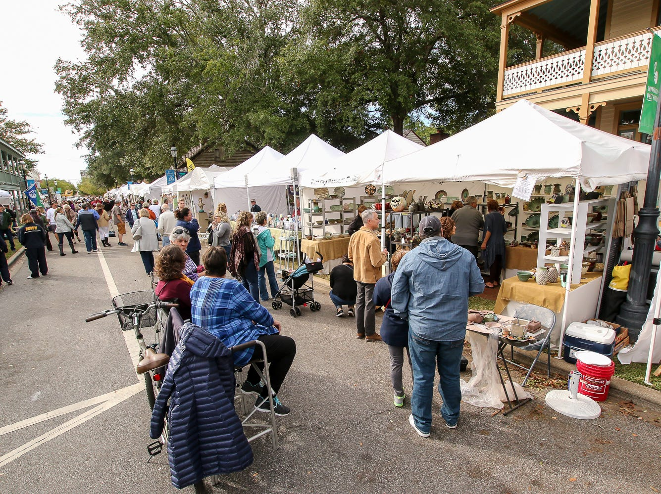 The Great Gulfcoast Arts Festival gets underway on Friday, November 2, 2018. The free event, featuring over 200 artists and vendors in and around Seville Square in downtown Pensacola, continues on Saturday (9 a.m. - 5 p.m.) and Sunday (10 a.m. - 4 p.m.).