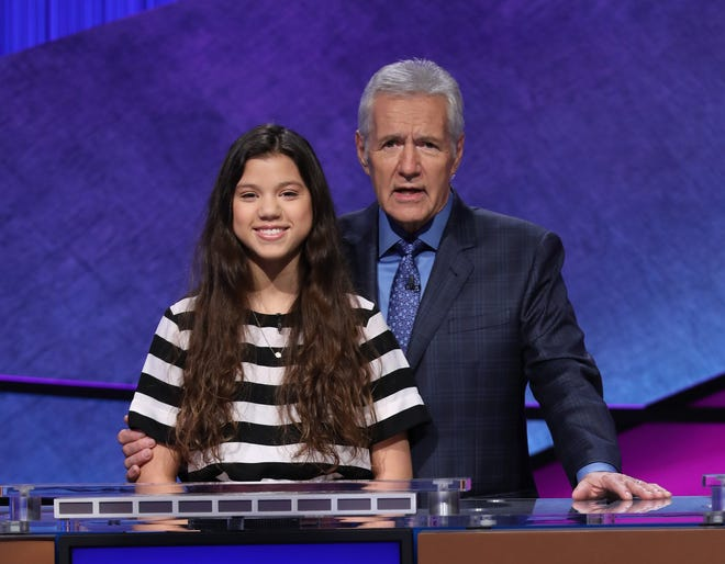 """Tate High School sophomore Maggie Brown will compete on """"Jeopardy! Teen Tournament"""" on Wednesday, Nov. 13."""