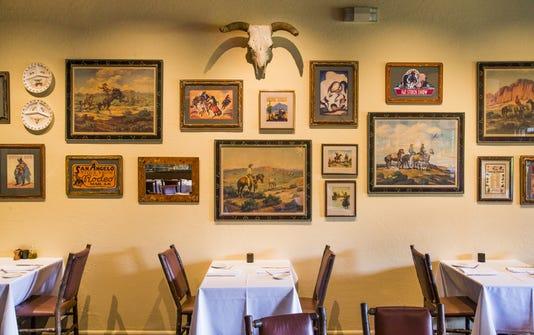 Rancho Pinot main dining room, Scottsdale