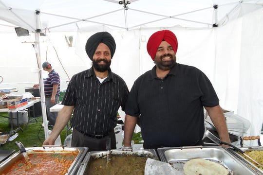 During the Discover India Festival, local restaurants offer authentic Indian cuisine.