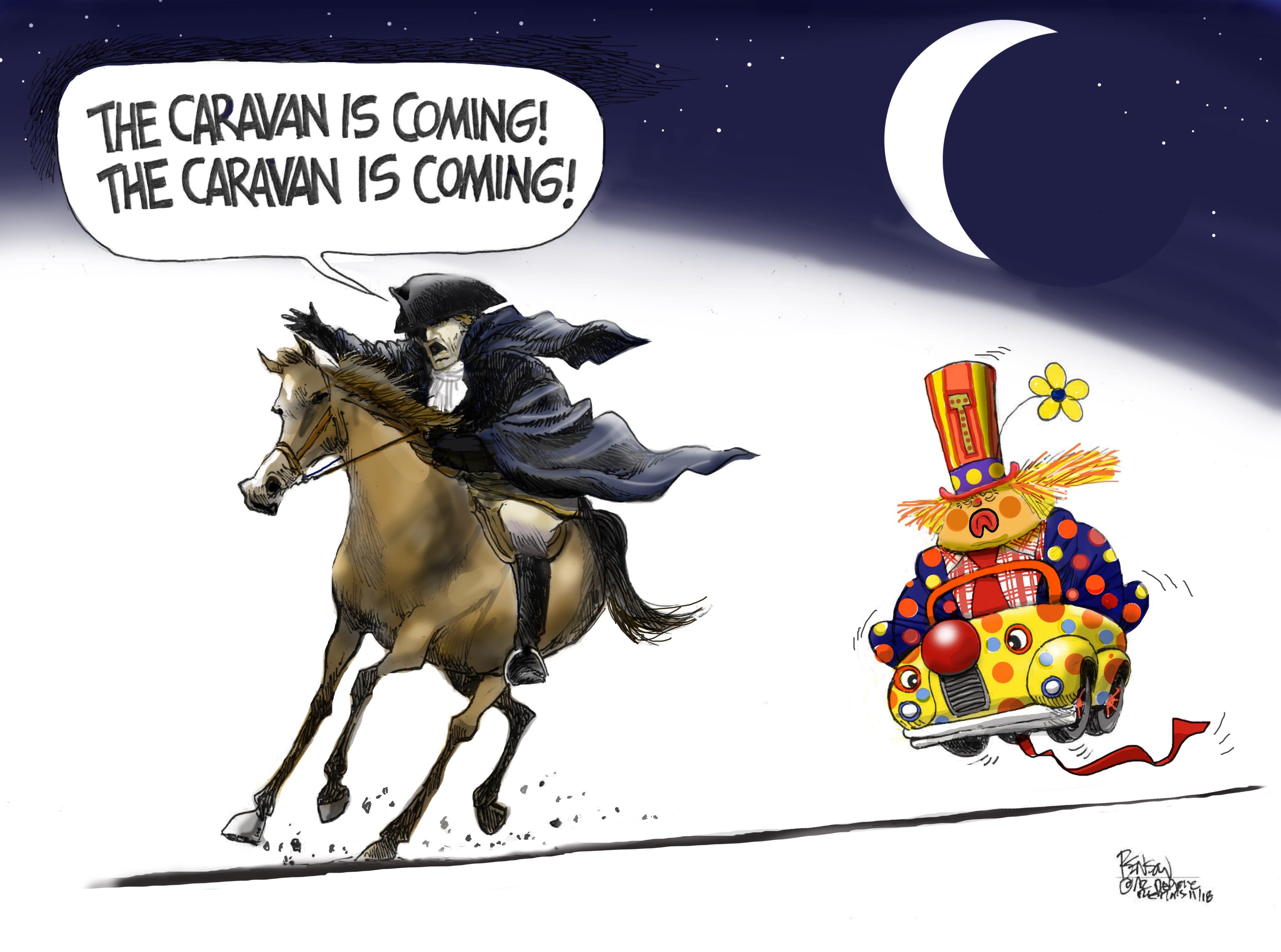 Cartoon for Nov. 2, 2018.