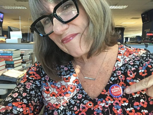 Karina Bland early voting