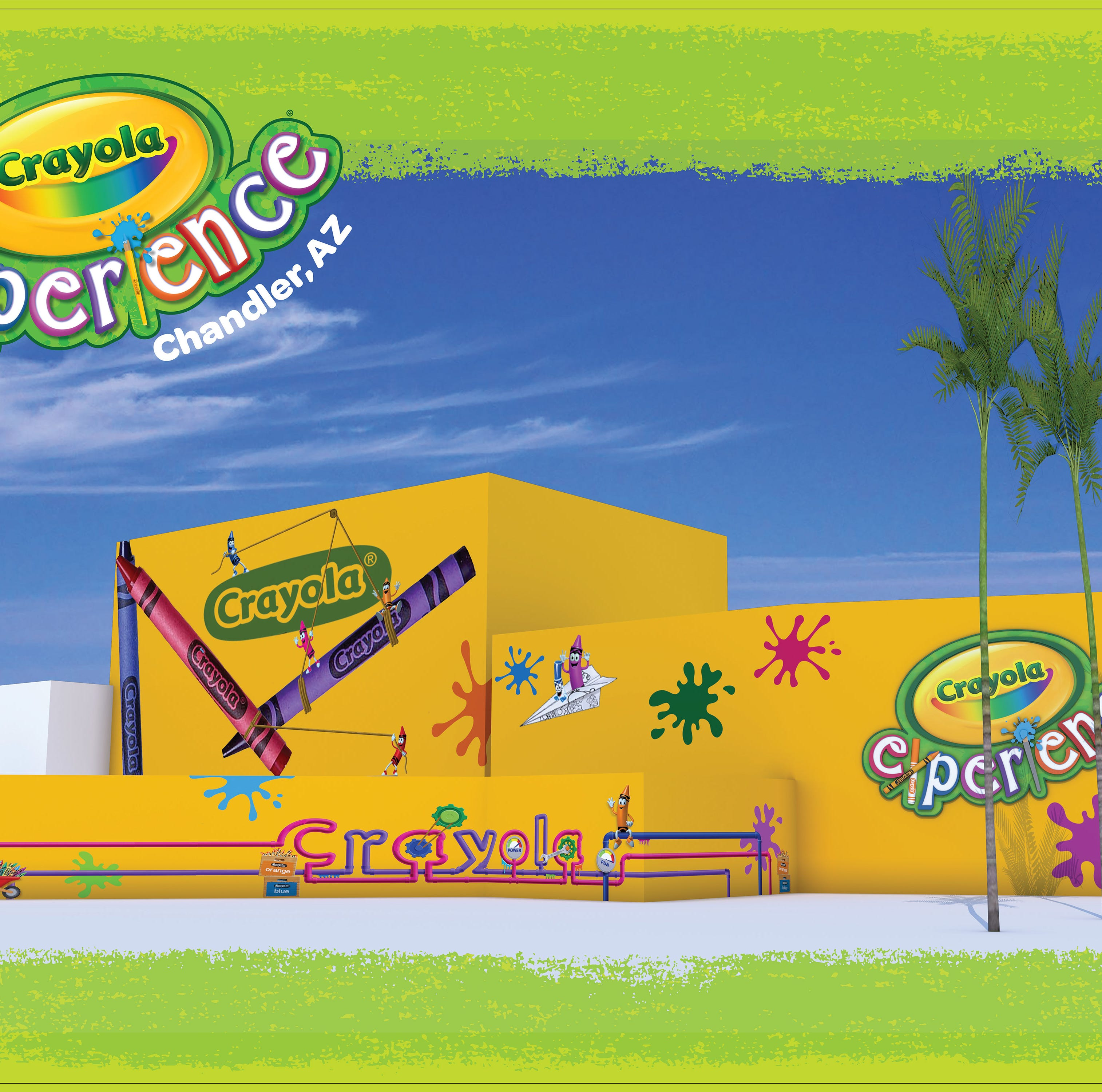 Kid-friendly Crayola Experience set to open at Chandler Fashion Center