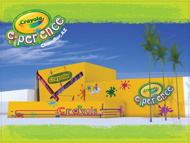 Crayon company Crayola plans to open a family-friendly attraction at the Chandler Fashion Center next summer.