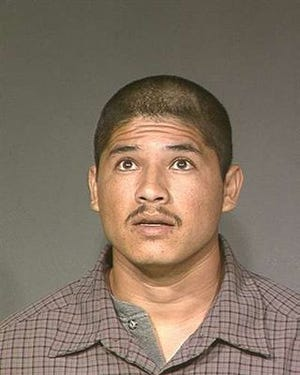 A photo of Luis Bracamontes, convicted of killing two California deputies in 2014, was provided in 2014 by the Maricopa County Sheriff's Office. The photo was taken after one of his earlier arrests in Maricopa County.