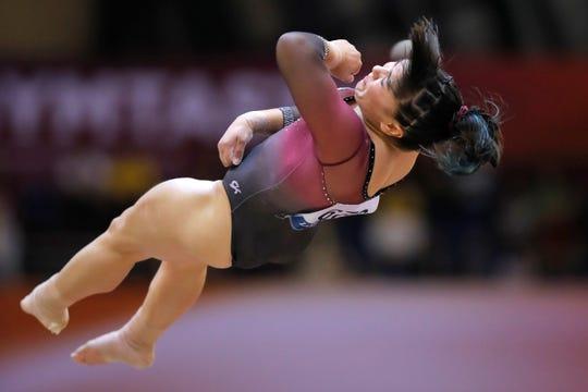 La gimnasta mexicana Alexa Moreno se alzó con la medalla de bronce en el salto de caballo del Campeonato Mundial de Gimnasia Artística, de Qatar