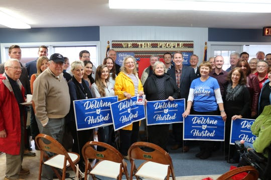With Election Day fast approaching, Jon Husted, Republican candidate for lieutenant governor as running mate to Mike DeWine, made a last campaign stop in Port Clinton on Friday.