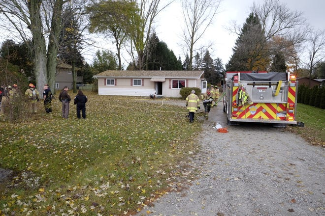 Firefighters responded to a kitchen fire on West Water Street Friday afternoon.