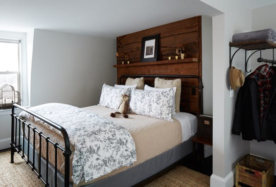 One of the guest rooms at Wm. Farmer & Sons.