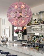 The bar area at The Hotel Tivoli