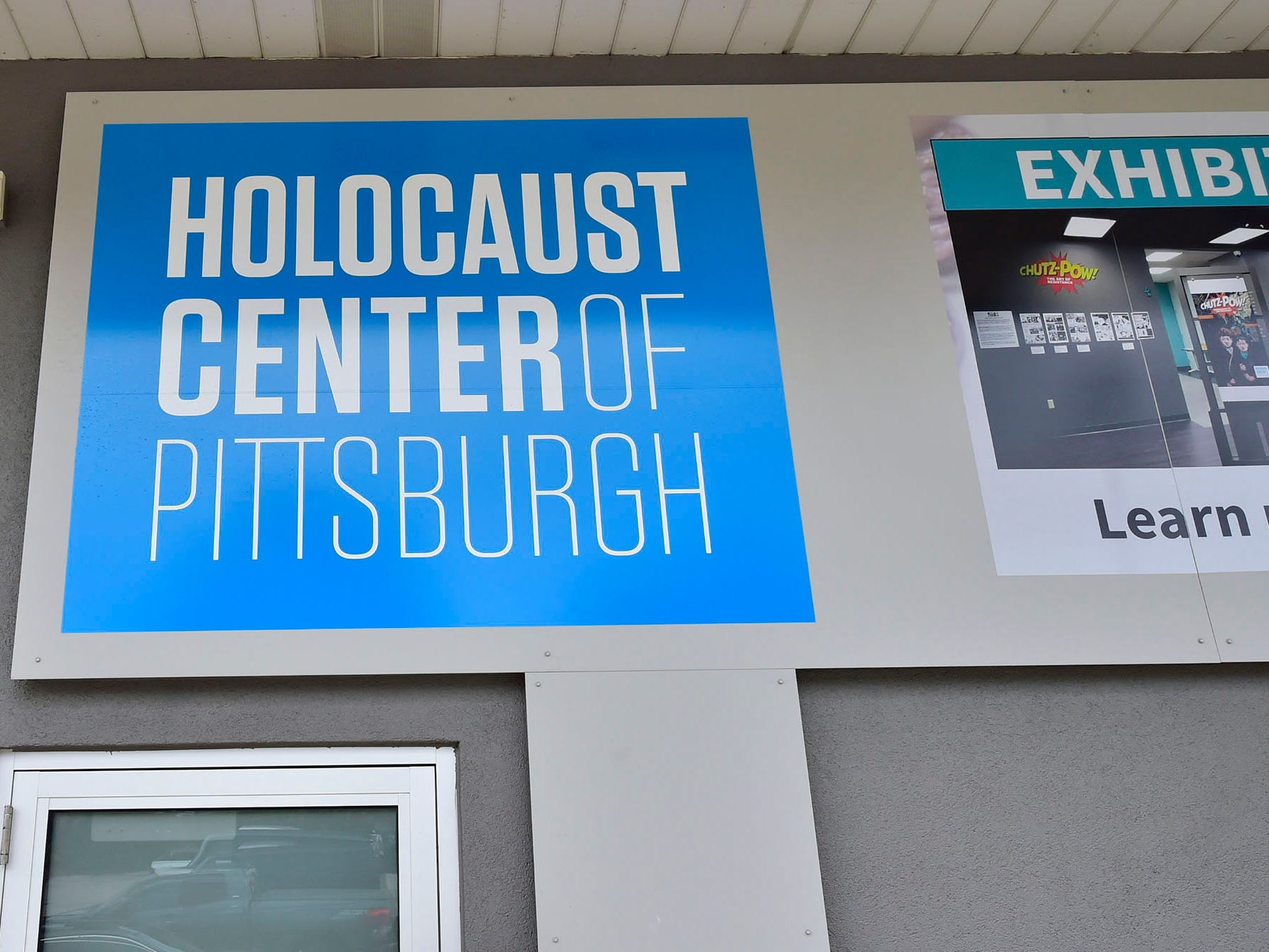Many neighbors visited the Holocaust Center of Pittsburgh.  A gunman entered the Tree of Life Congregation Synagogue in the Squirrel Hill neighborhood of Pittsburgh, Pa., and opened fire on the congregants and engaged police, Saturday morning, according to officials. (Markell DeLoatch, Public Opinion/via USA Today Network)