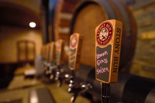 Stony Run Brew House features 16 taps in total. 10 feature Stony Run beers the other 6 rotate between local PA-crafted beers.