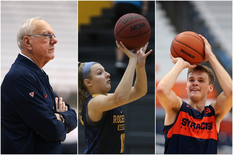designer fashion 9da80 1c3ae Boeheim basketball: Buddy will play for dad at Syracuse, Jamie to play at UR