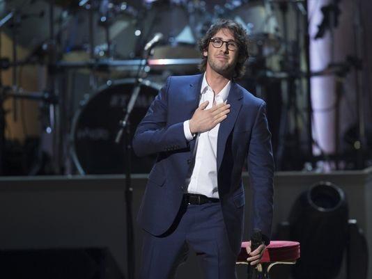 Josh Groban headlines a Tuesday, Nov. 13, show at Blue Cross Arena at the War Memorial. Idina Menzel opens the concert.