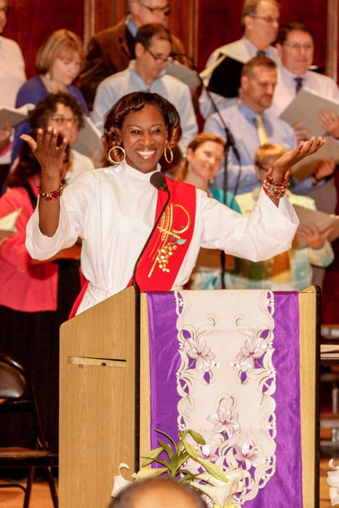 Myra Brown blazes trails as an activist anti-racism priest