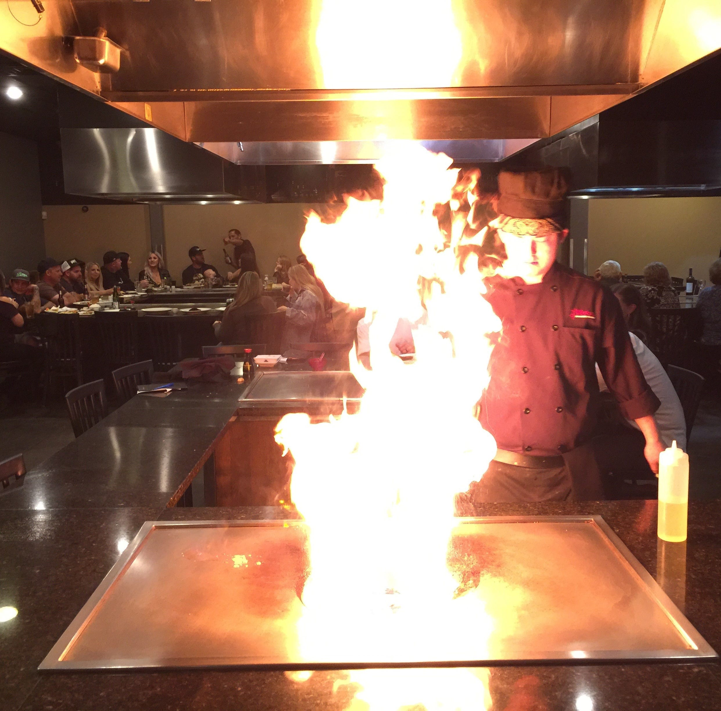 Dining Out: Chef gets all fired up for customers at Kobe