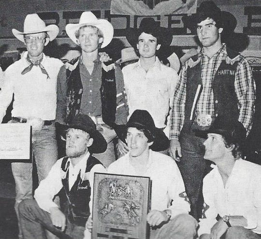 The 1981-1982 Hartnell Panthers Rodeo team made it all the way to the national championship in Bozeman, Mont. and placed third. They're one of three teams to be honored Saturday by Hartnell Athletics.