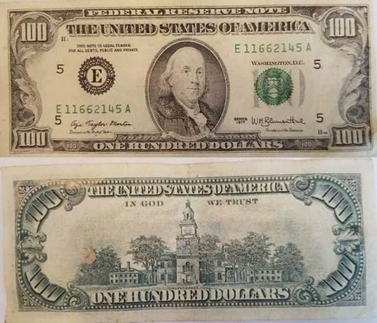 Counterfeit bills passed at Rehoboth Beach businesses in August, 2018.