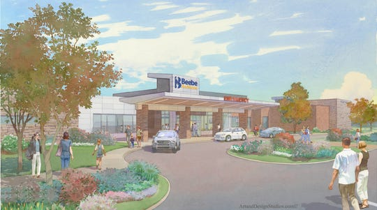 Beebe Healthcare has plans to build its South Coastal Health Campus near Millville on Route 17. Construction began on Thursday, Nov. 1, 2018.