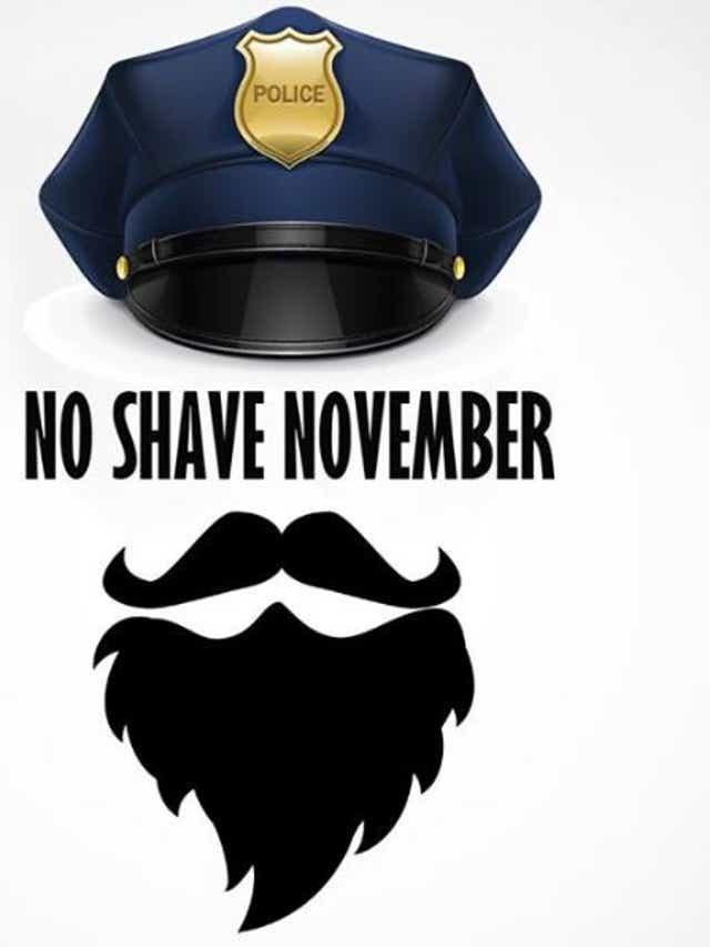 Sheboygan officers get scruffy for 'No Shave November'