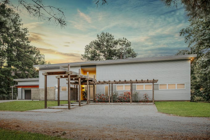 3100 Halls Trail, Haughton  Price: $740,000  Details: 2 bedrooms, 2.5 bathrooms, 2,675 square feet  Special features: One-of-a-kind home on 4.7 acres in Haughton,  metal siding, metal roof,  2.5 car garage, large office, 18 solar panels, bamboo flooring,  outdoor fireplace.  Contact: Leighton Allen, 780-3993