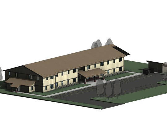 Above is an artist rendering of HomePlace, a new, 21-unit affordable housing unit expected to come to the west side of Sioux Falls in early 2020 to support homeless youth.