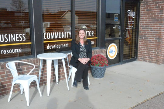 Kim Cerwick is president and CEO of the Brandon Valley Area Chamber of Commerce.