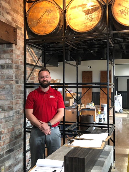 Greg Veach is general manager of the new Big Whiskey's restaurant and bar in Nixa. It will have a grand opening Dec. 1, 2018. Veach was formerly general manager of the downtown Springfield location and is a Nixa High School graduate, class of 2003.