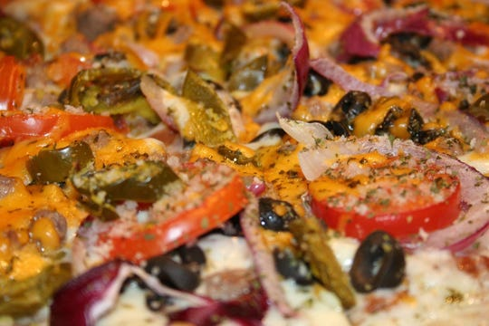 The Chef's Supreme at Pizza by the Chef in Branson West.