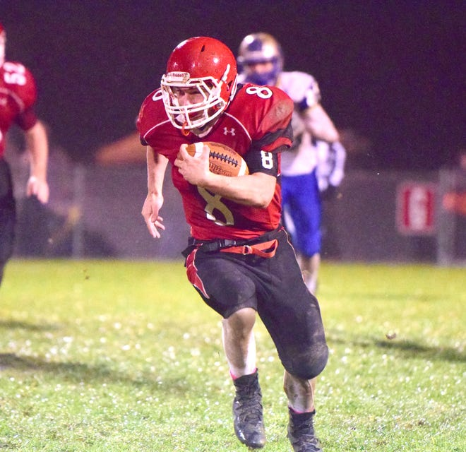 Zac Smiley, Riverheads' sophomore running back, was voted 2018 Region 1B Offensive Player of the Year.