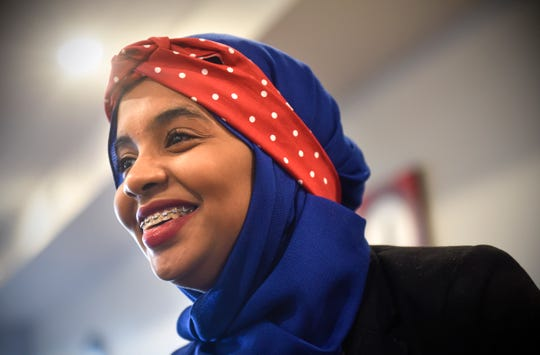 Habso Mohamud smiles while talking about her new book during an interview Friday, Nov. 2, in St. Cloud.