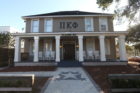 The Pi Kappa Phi fraternity house was closed down following the death of pledge Andrew Coffey.