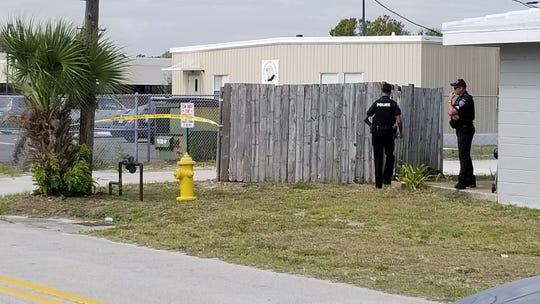 Police were present at an apartment complex near the Vero Beach High School Freshman Learning Center on Nov. 2, 2018, causing a brief lockdown.