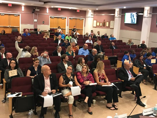 Port St. Lucie Mayor and Council and business officials listened to the Urban Land Institute's recommendations for the city-owned Tradition Center for Commerce.
