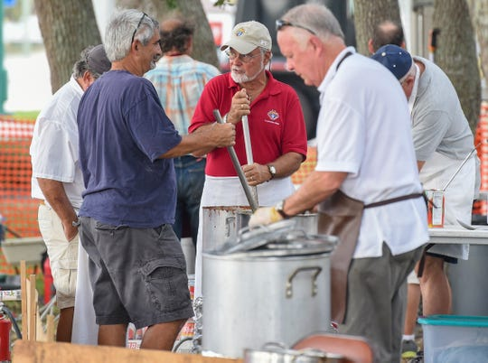 Proceeds from November's Sebastian Clambake were down 43 percent from 2017, but the event still distributed $37,300 to local nonprofit organizations.