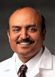 Rajkumar Lakshmanaswamy,dean of the Texas Tech University Health Sciences Center El Paso Graduate School of Biomedical Sciences.