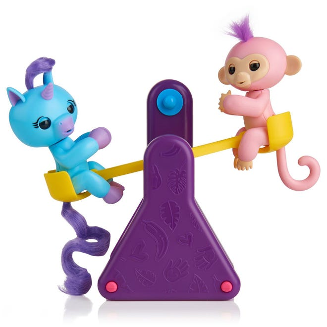 Check out the WowWee Fingerlings playset for young children at a Sam's Club toy demo Sunday.