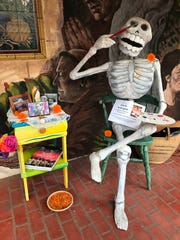 Artwork and an altar were set up in memory of Chicano artist Jack Vargas at the Museum of Ventura County on Thursday.