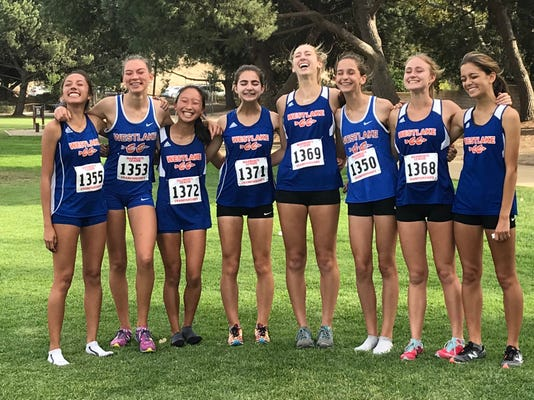 Westlake girls cross country